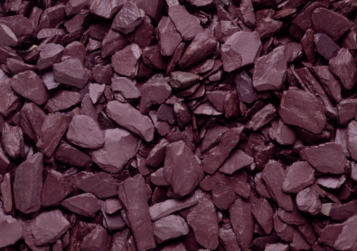 pre-packed bag Large 40mm Slate Chippings