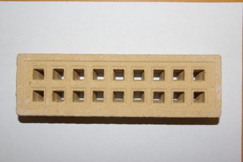 """9 x 3"""" Clay Air Brick"""