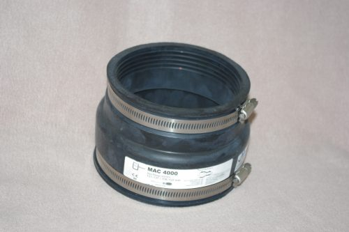 Universal 110mm PVC-u to 100mm Clay Adaptor Coupling
