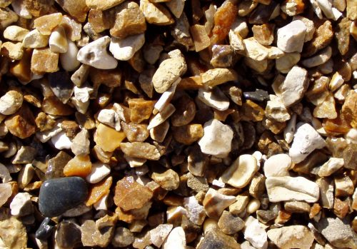 pre-packed bag 20mm Chard Flint/Shingle