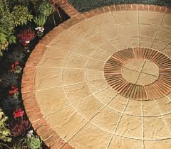 Garden Stone Paving Rotunda Circles