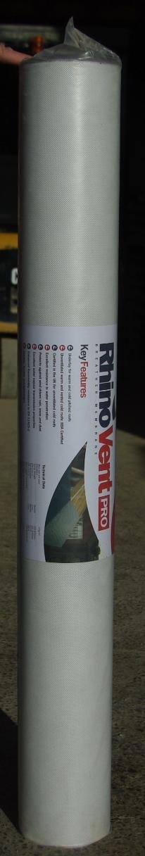 20 x 1m Breathable Membrane