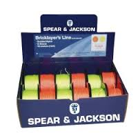 Spear & Jackson 50m Hi-Viz Bricklayers Line