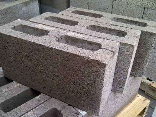 Pack (48) of 140mm Hollow Concrete Blocks