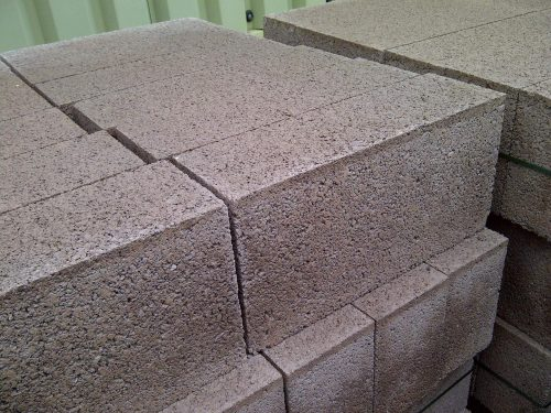 Pack (48) of 140mm Solid Concrete Blocks