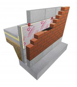 1200 x 450 x 50 mm Celotex Cavity Wall Batts