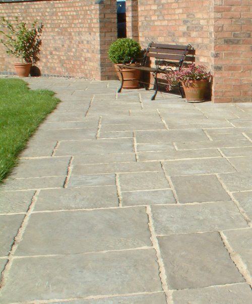 Old Courtyard Paving - 450 x 450mm