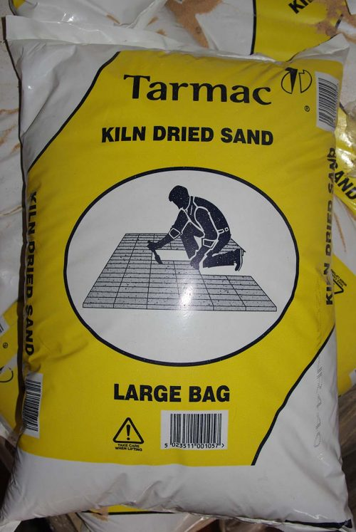 prepacked bag Kiln Dried Pavior Sand