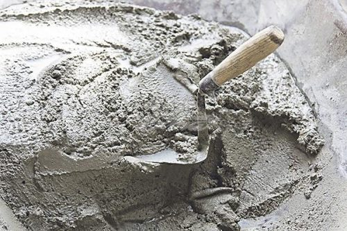 Cement with Trowel